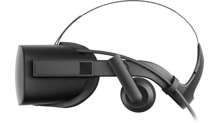 Oculus Rift Side View