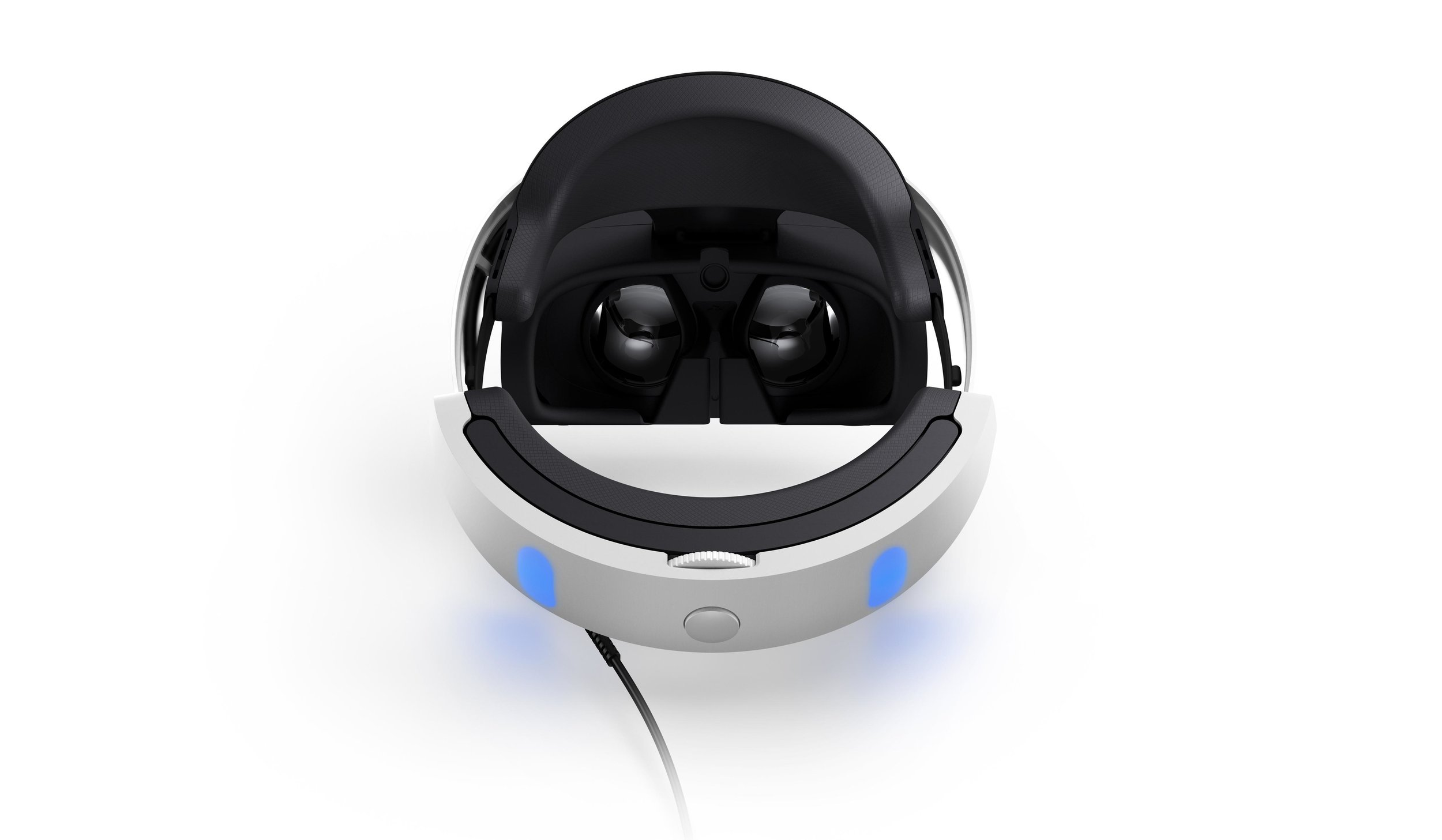 Playstation VR Back View