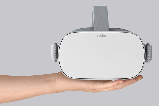 Oculus Go Front On Hand