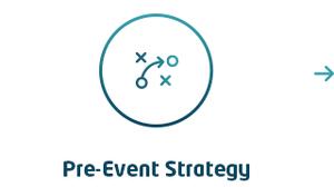 Pre-event strategy icon