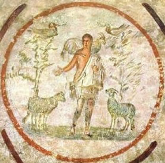 Christ the Good Shepherd Catacomb of Priscilla 2nd half of the 3rd Century