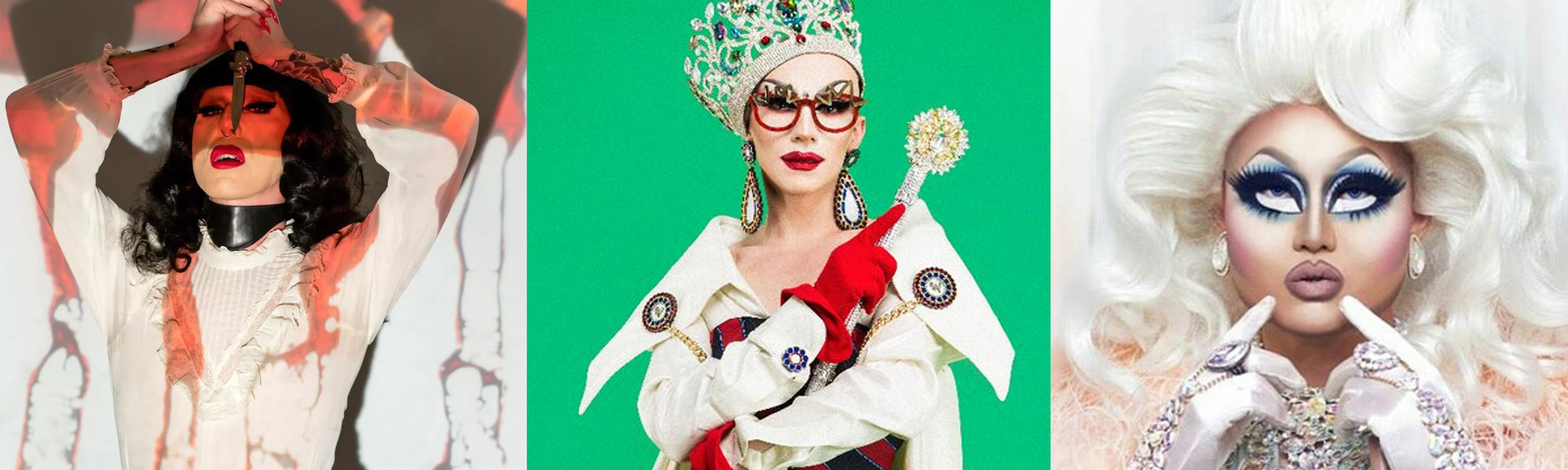 Favorite Queens: Louisianna Purchase, Sasha Velour, and Kim Chi