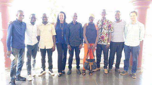 Bilan séjour de formation avec nos futurs formateurs spécialisés en séchage de fruits de retour d'un mois de formation au Burkina.  Nous avons eu à échanger sur les acquis de la formation et les perspectives d'avenir dans le cadre de la mise œuvre de notre #Agrihub à #Kindia.  Nous espérons qu'ils apporteront du nouveau au développement de la filière des fruits séchés en Guinée.