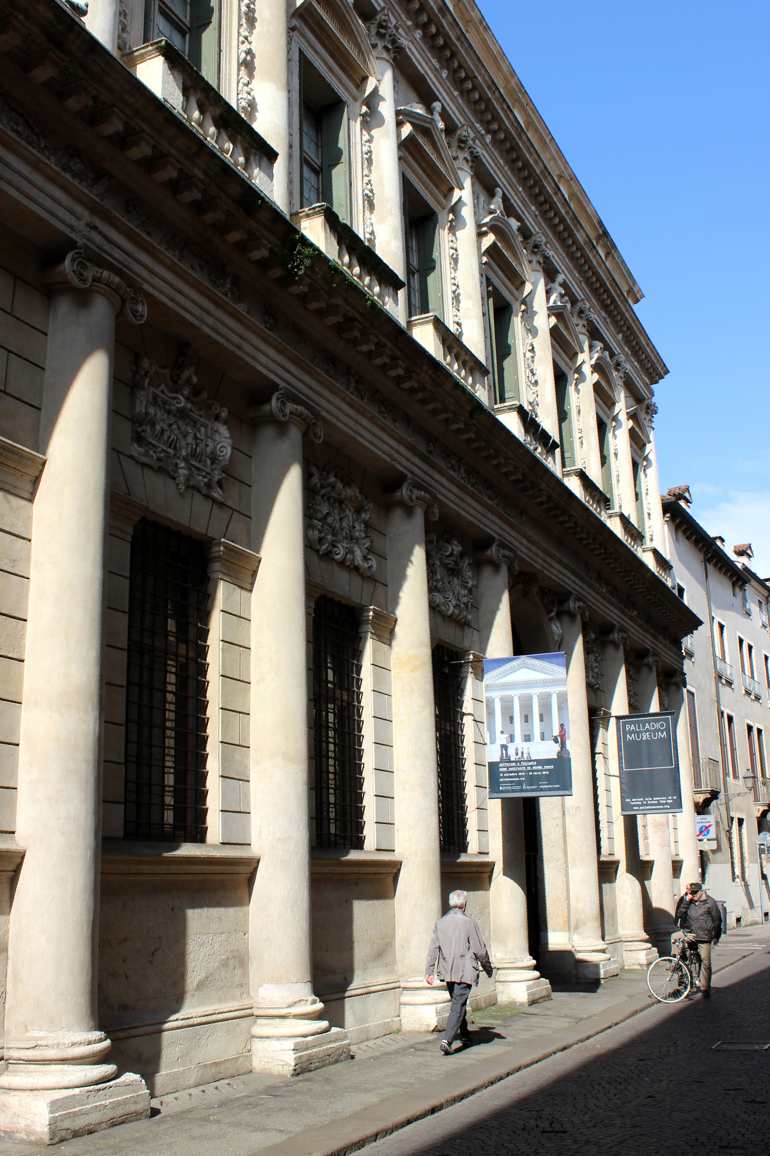 The Palladio Museum in Vicenza, built within Palladio's Barbaran Palace.