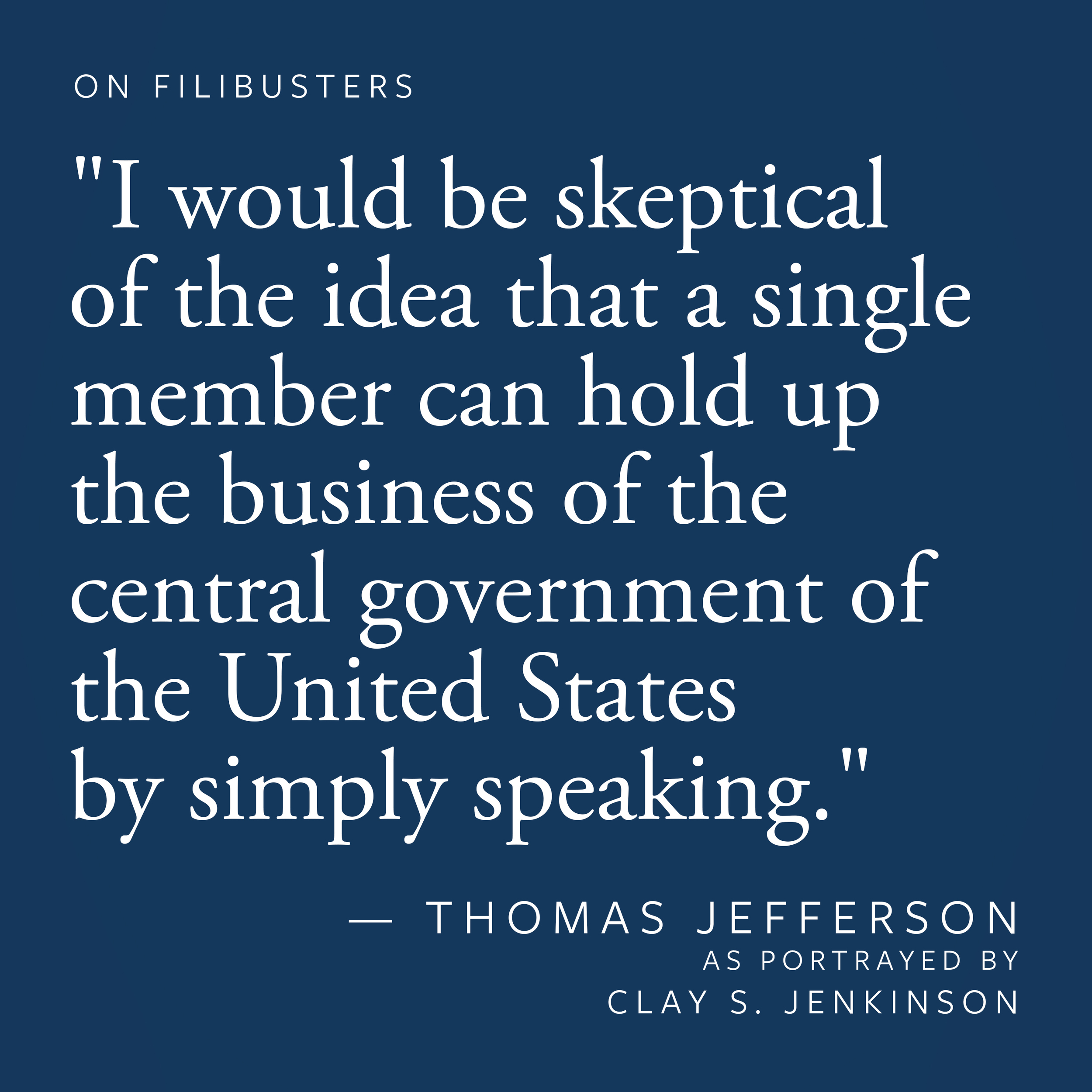 On Filibusters