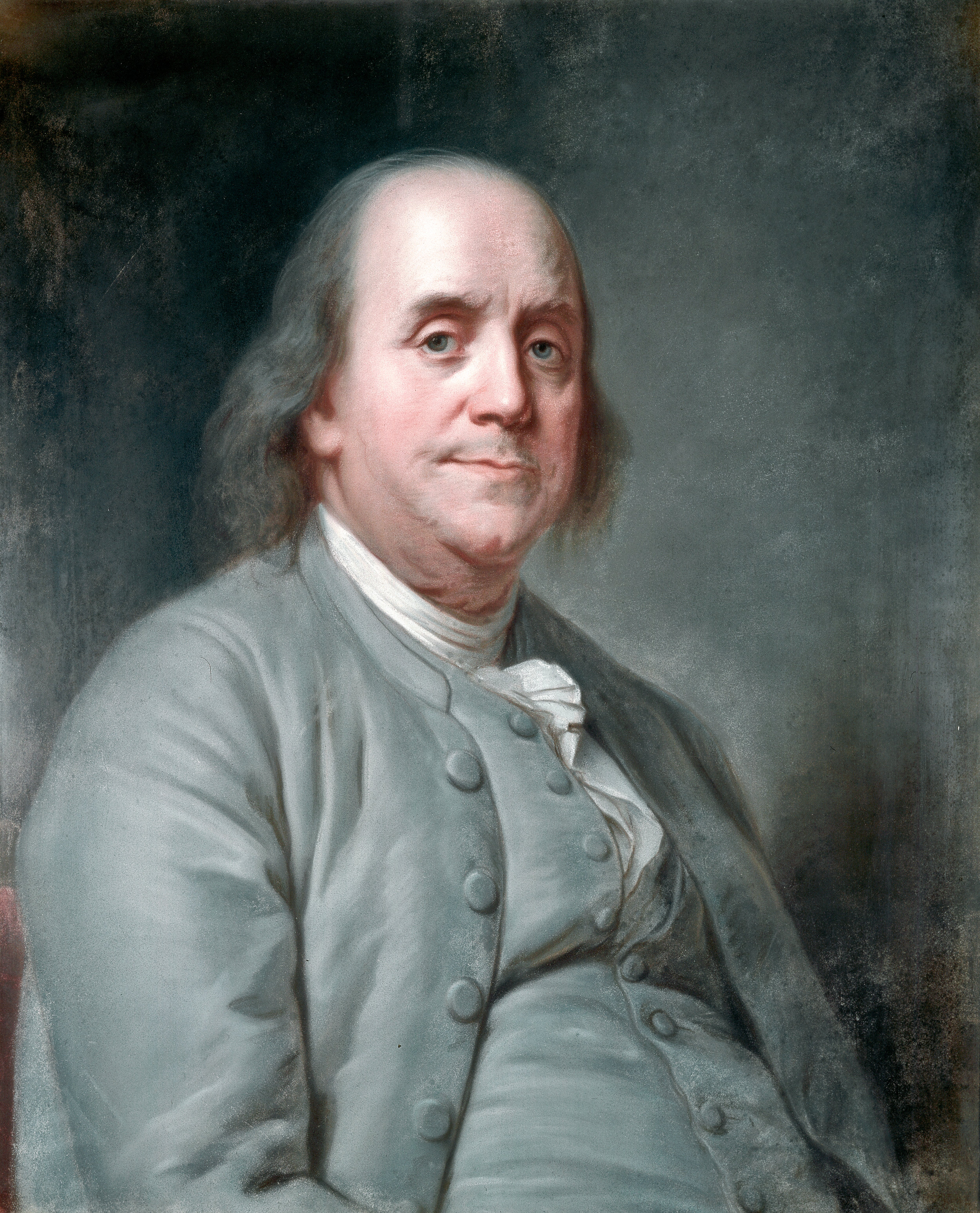 Benjamin Franklin. Image from  New York Public Library Digital Collections .
