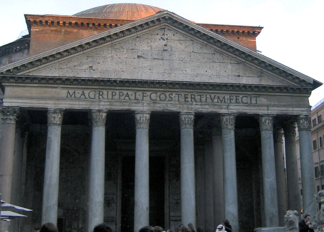 The Pantheon. Photo by Anthony M. via  Wikimedia ,  CC BY 2.0 .