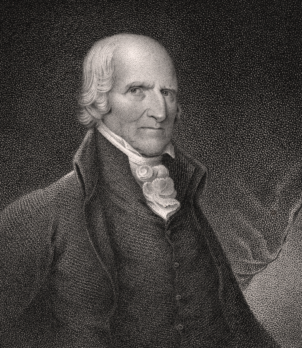 Timothy Pickering, third Secretary of State. Portrait from the  New York Public Library .