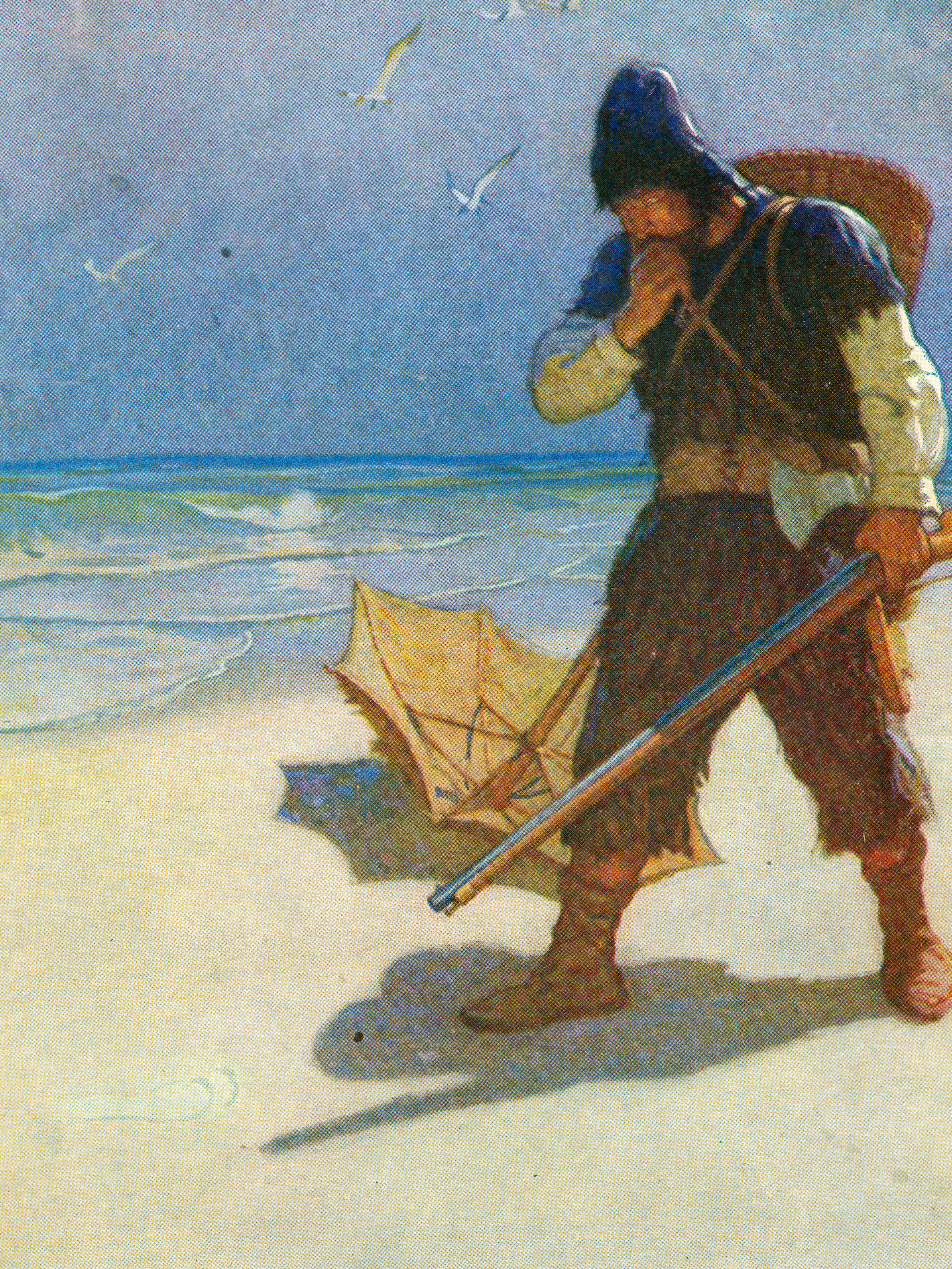 By N. C. Wyeth, from the  NYPL Digital Collections , c. 1920.