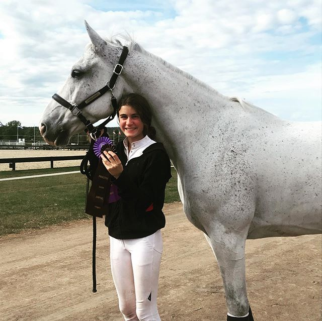 I could not be prouder of my ladies for their fantastic riding @princetonshowjumping this weekend. All of them put in beautiful clean rounds to pick up top placings in their divisions. Their hard work and support for each other always amaze me. Congratulations ladies. I am proud of you.  I also need to send out a big thank you to @sethvallhonrat for helping me achieve a very special goal this weekend. Zanziebar and I jumped out first 1.45-1.50m Grand Prix with just 1 rail coming down. I am very grateful to have such an incredible partner in Zanziebar. Can't wait to see what is to come! #proudtrainer #dianelittlestables #squishisajumpernow