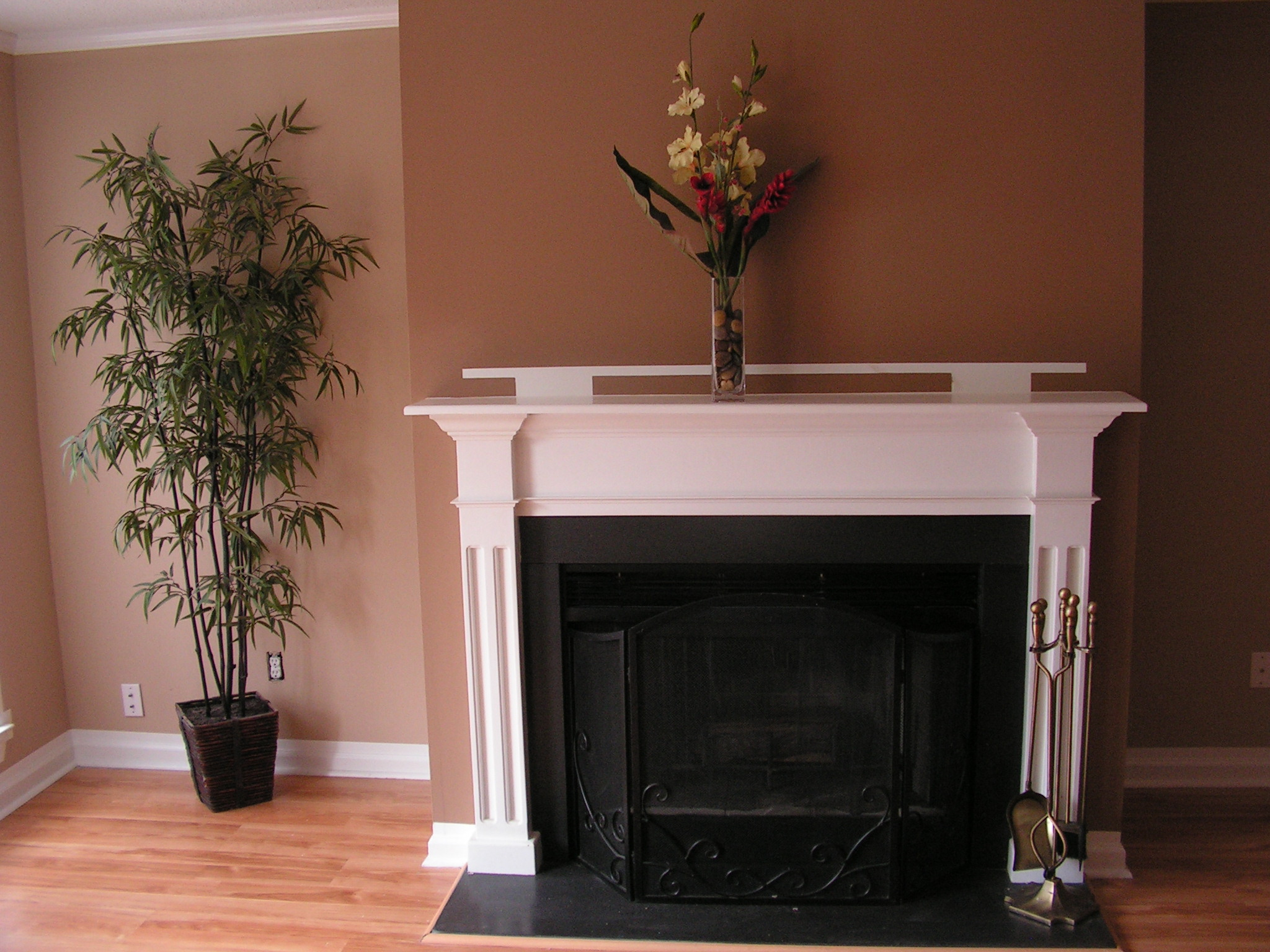 Interior painting with subtle wall design in Augusta, Georgia.