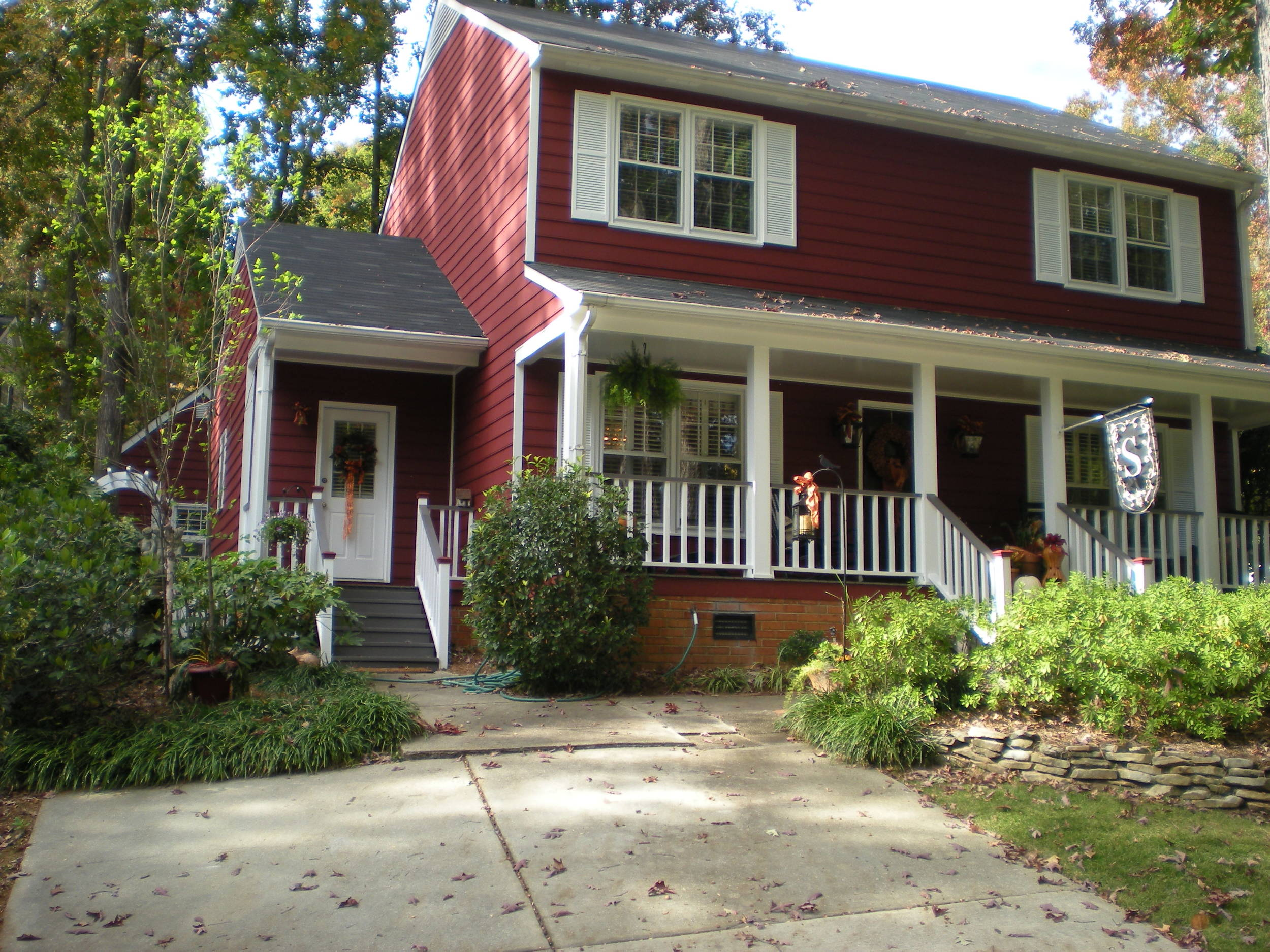 Exterior painting project in Augusta, Georgia.