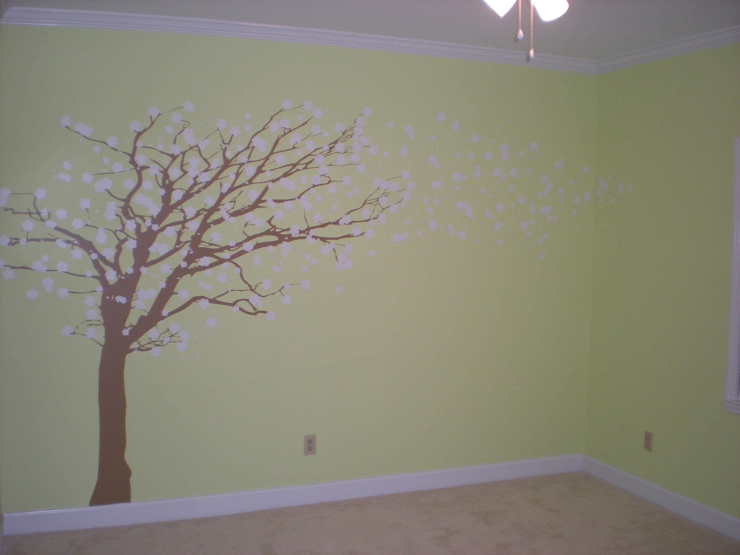 Interior wall design Augusta, Georgia.  This is an application process.