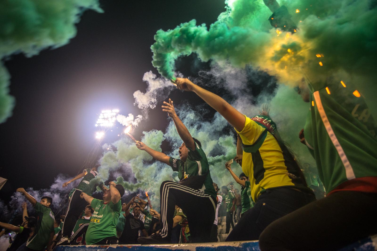 Vamos Mi Verde - A series about superfans in San Pedro Sula, Honduras.