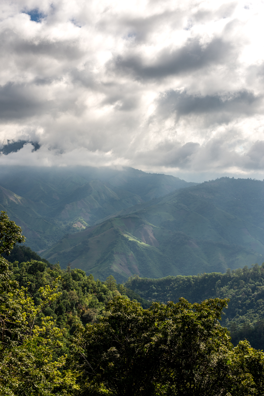 Cusuco National Park, a mountainous cloud rain forest where many campesinos live as coffee growers.