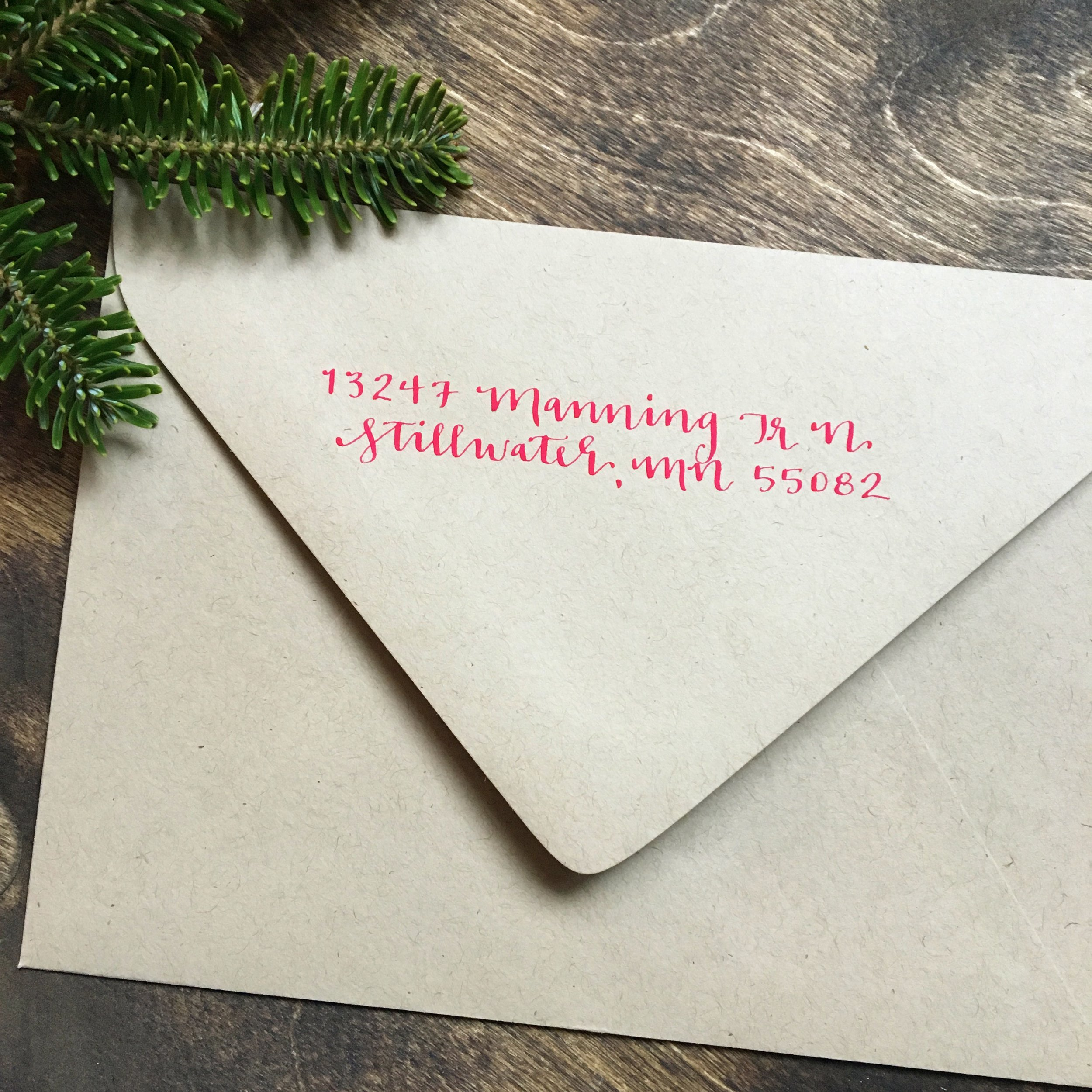 What the return address on ALL my envelopes should have looked like...