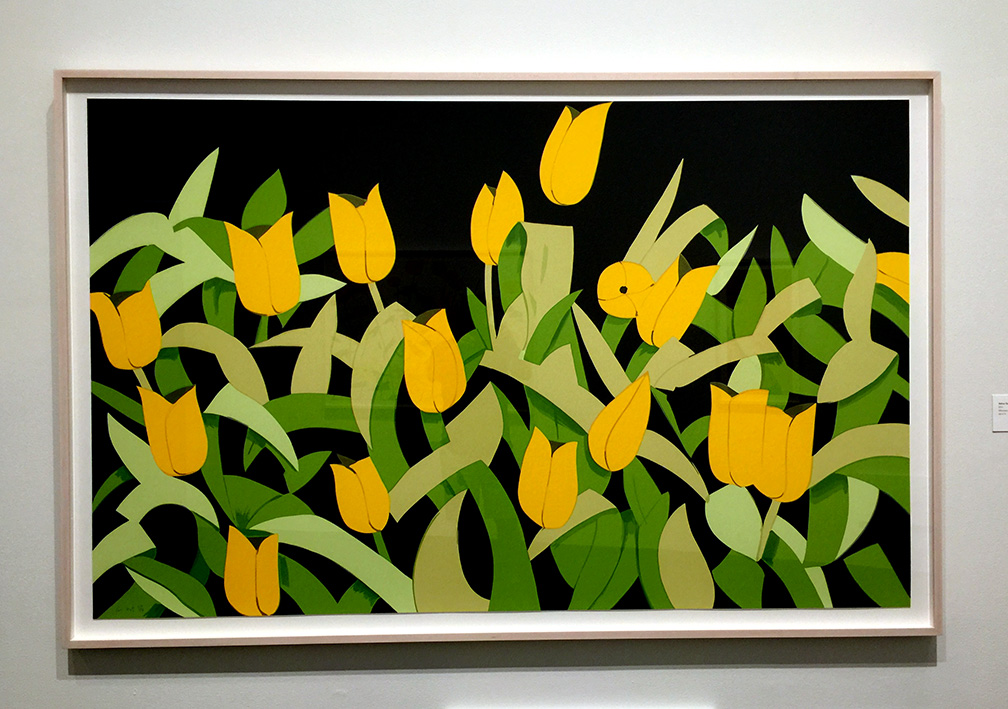 Yellow Tulips , Silkscreen, 2014