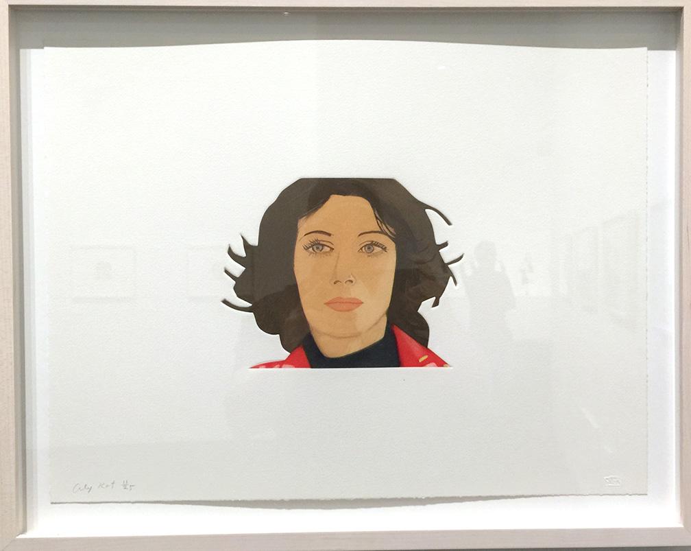 Face of the Poet: Ann  , Silkscreen, 2013