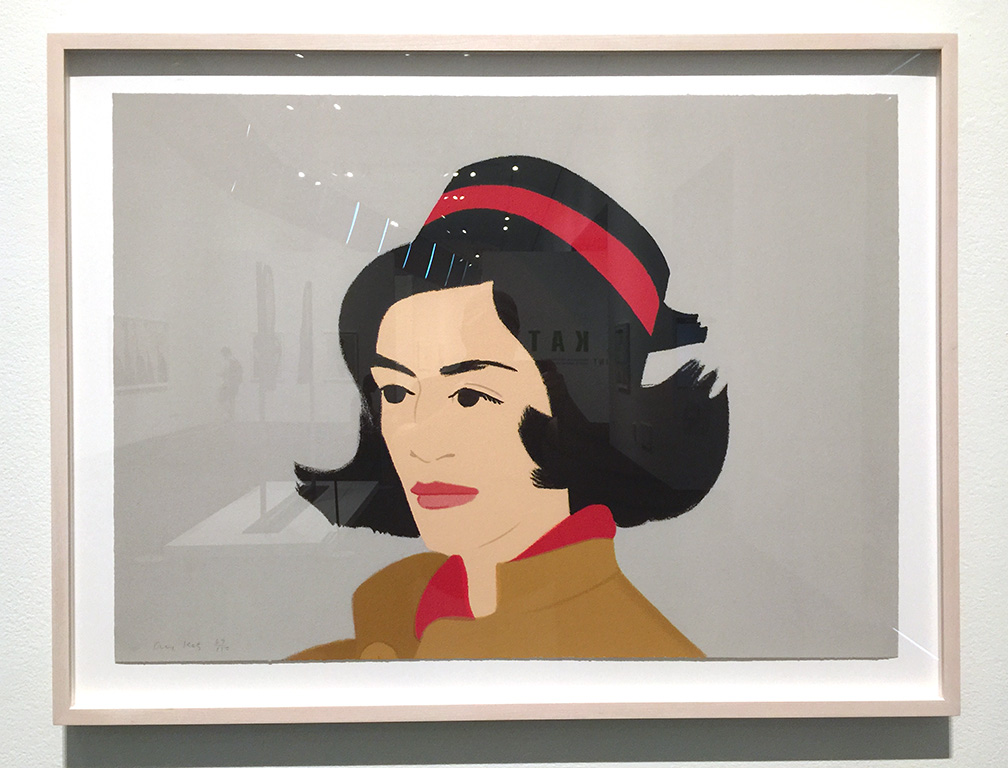 Alex and Ada, the 1960's to the 1980's: Ada in Hat , Screenprint, 1990