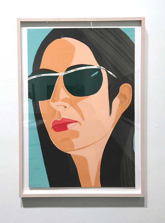 Alex and Ada, the 1960's to the 1980's:   Ada with Sunglasses , Screentprint, 1990