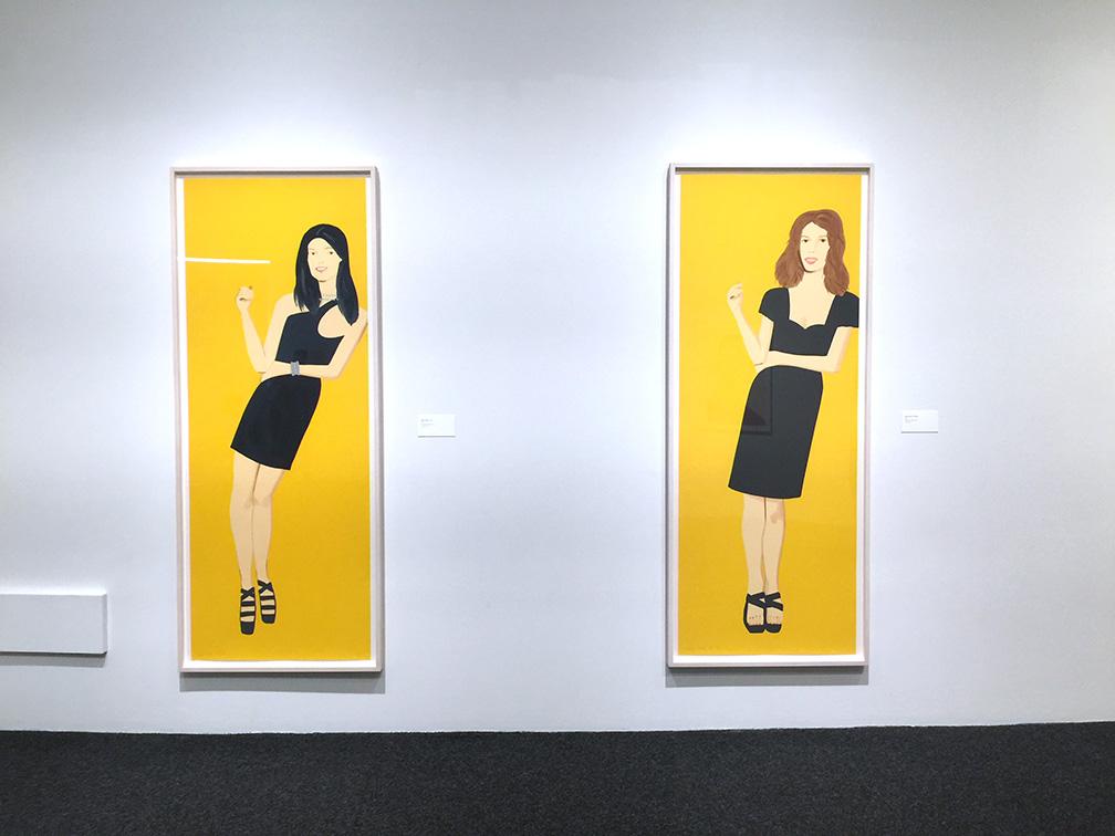 2 from the  Black Dress  series , Silkscreen, 2015
