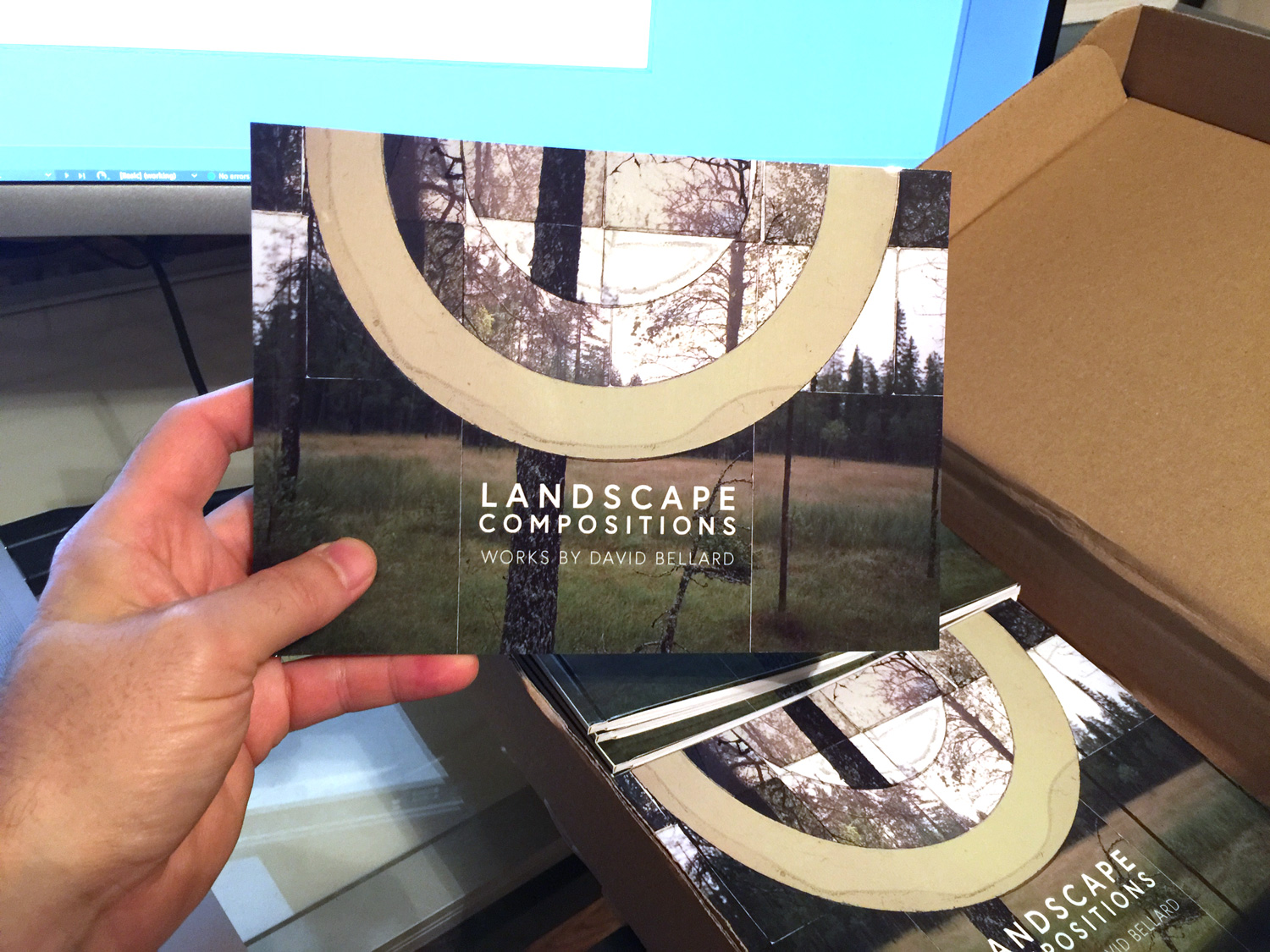 This catalog is about 24 pages of my landscape works, including the Forest Portal series and the Mt. Takao series.