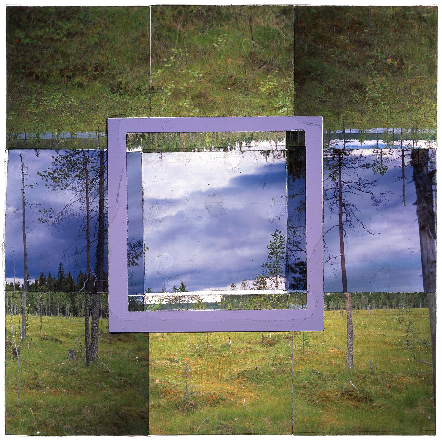 "VIEREMÄNJÄRVI, FINLAND - 36""x36"" (91cmx91cm) • TRANSPARENCY FILM PRINT, ARCHIVAL PIGMENT ON FUJI LUSTRE  (EDITION OF 5)"