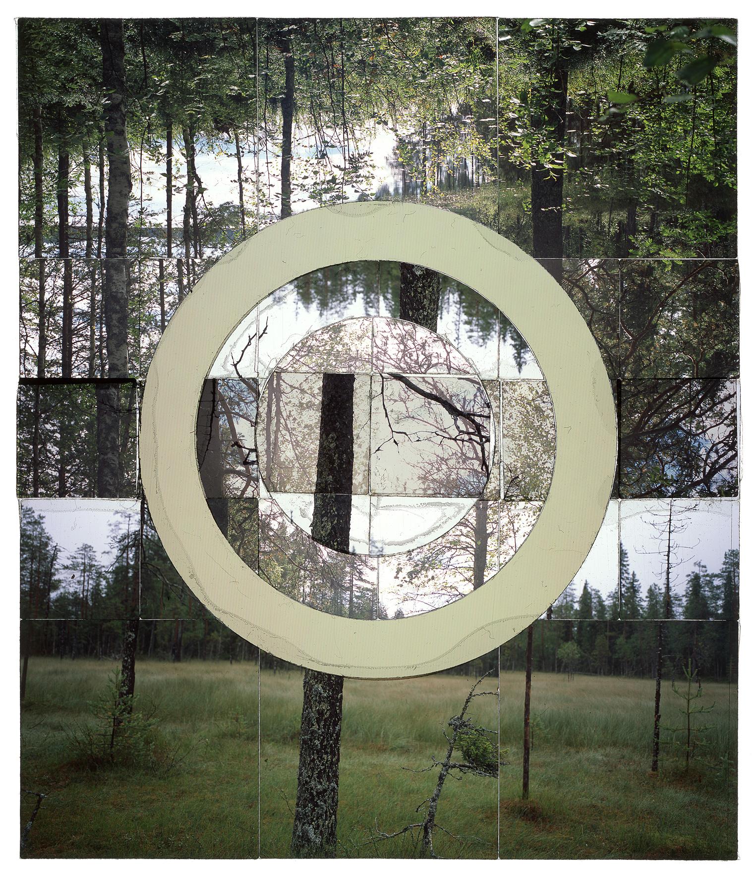 "SYVÄLAMPI, FINLAND - 30""x36"" (76cmx91cm) • TRANSPARENCY FILM PRINT, ARCHIVAL PIGMENT ON FUJI LUSTRE  (EDITION OF 5)"