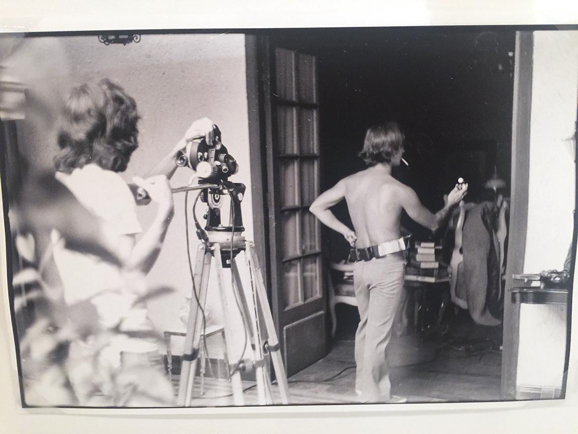 Filming Aggarando Pueblo