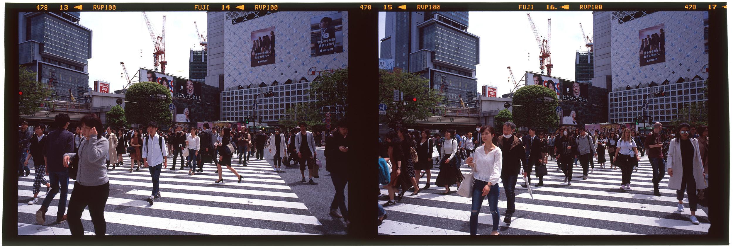 SHIBUYA CROSSING, TOKYO, 2017