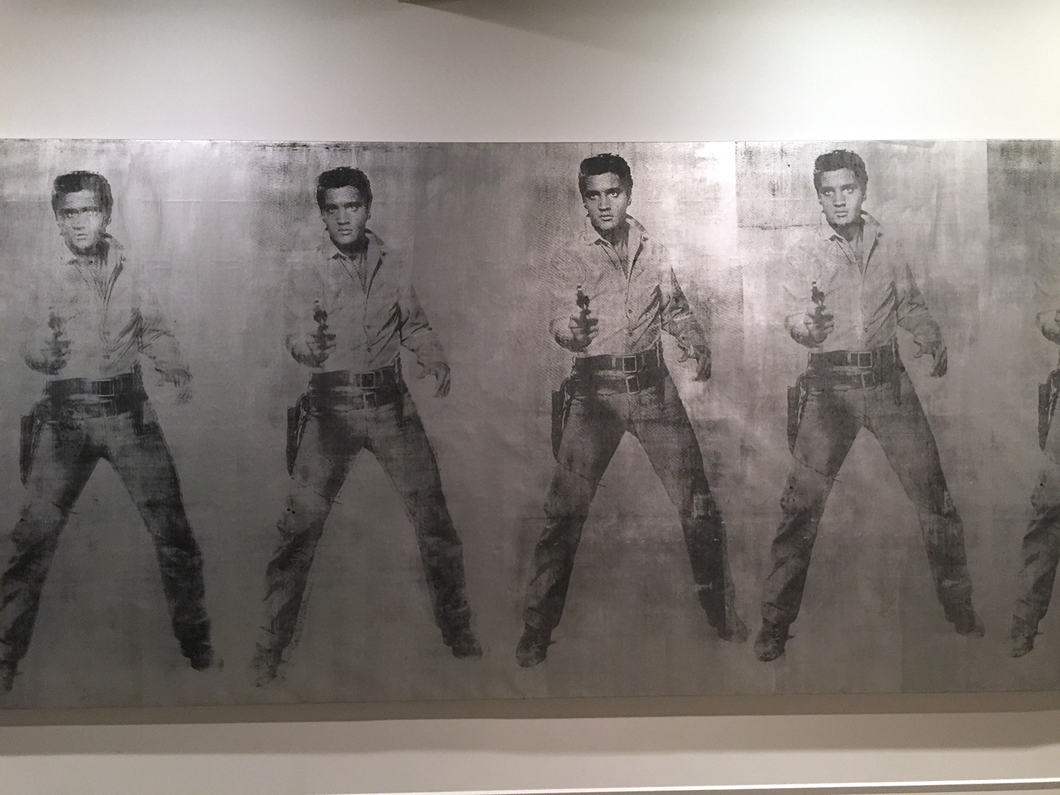Eight Elvises  , 1963, Andy Warhol.