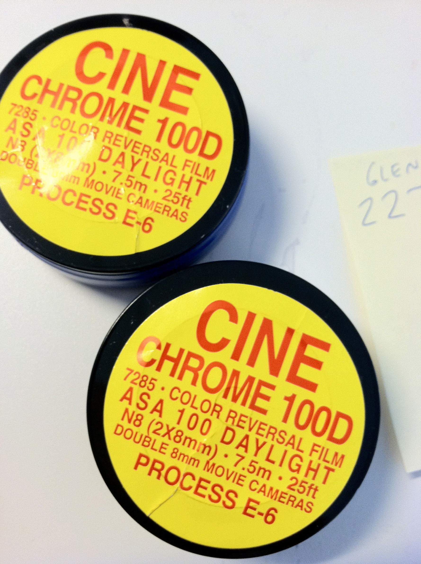 The only 16mm film that comes in 25ft rolls now are double 8mm rolls. These are pretty hard to find these days.