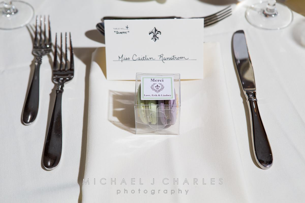 Ranstrom Parisian Themed Wedding Favors