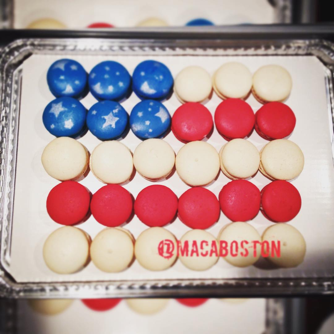 July 4th American Flag Mosaic