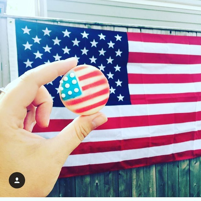 American Flag Maca