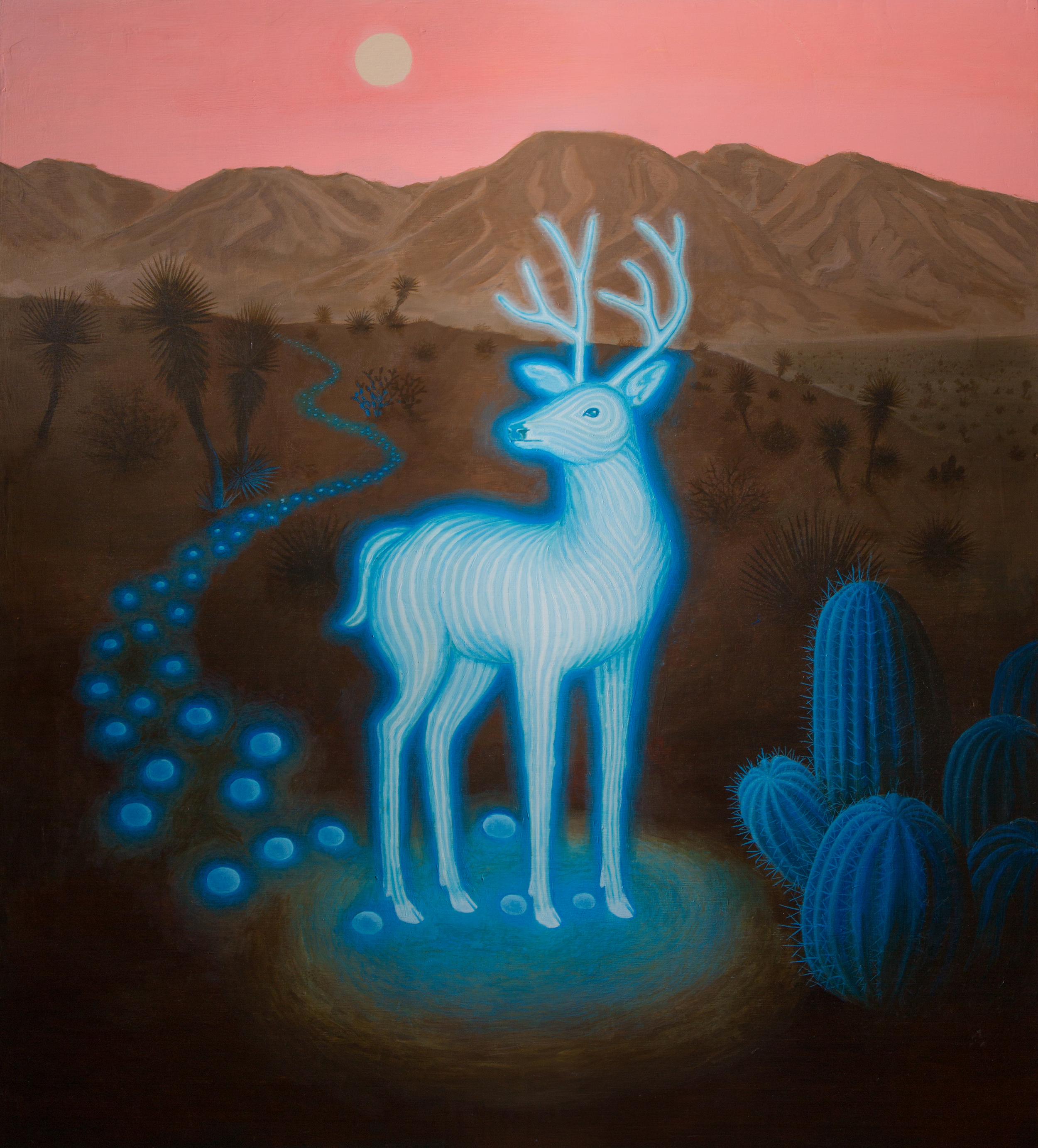 blue-deer-drums-painting-brooklyn-shamanic-sound-healing-bath-workshop-bag-ceremony-drumstick-spirit