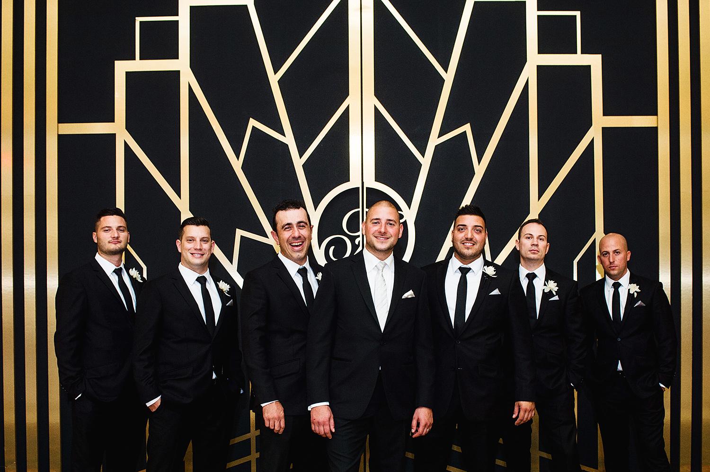 groomsmen-fairmont-hotel-vancouver-art-deco-wall-vancouver-wedding-yaletown-photography-photo