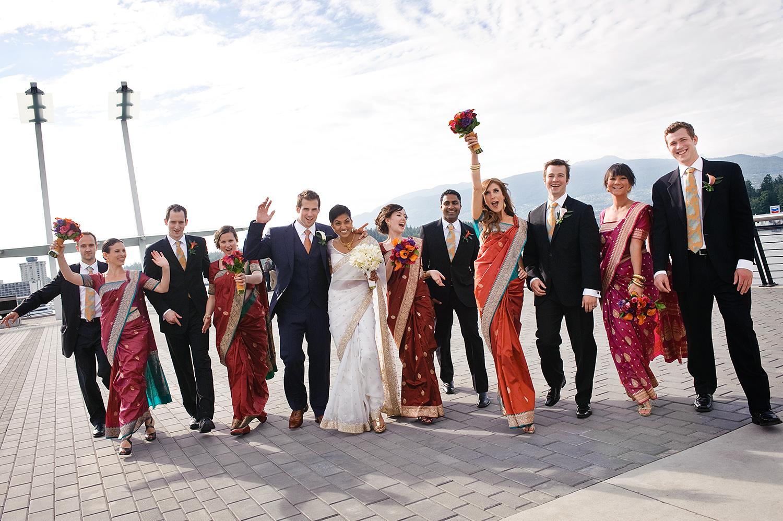 bridal-party-saris-indian-wedding-vancouver-wedding-yaletown-photography-photo