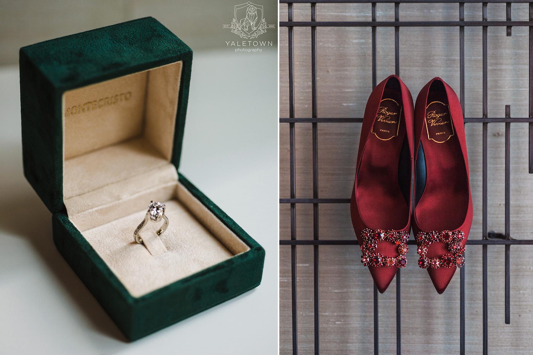 Roger-Vivier-Bridal-Shoes-Montecristo-Wedding-Ring-Rosewood-Hotel-Georgia-Vancouver-Wedding-Yaletown-Photography-photo