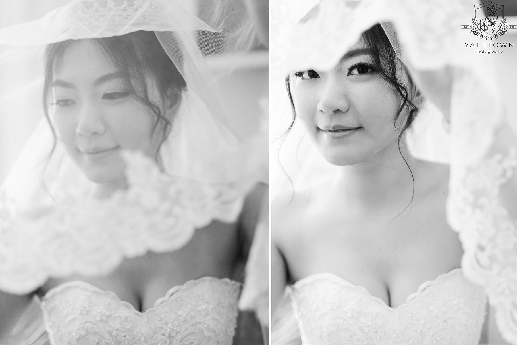Bride-Bridal-Gown-Veil-Rosewood-Hotel-Georgia-Vancouver-Wedding-Yaletown-Photography-photo