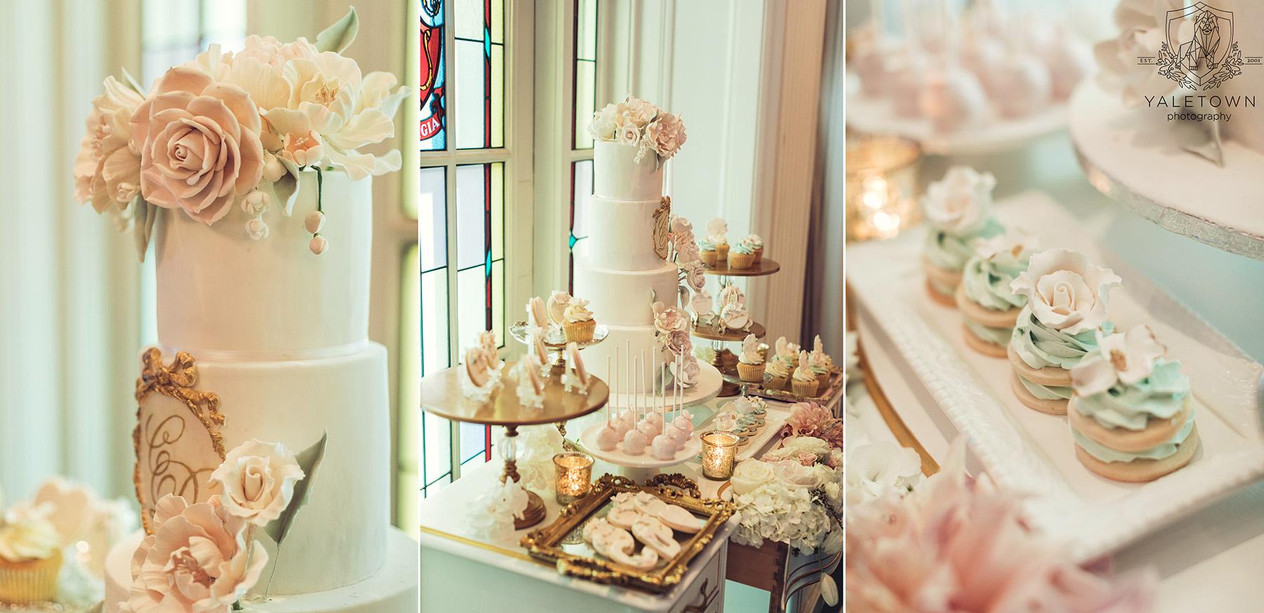 Wedding-Cake-Desserts-Rosewood-Hotel-Georgia-Vancouver-Wedding-Yaletown-Photography-photo