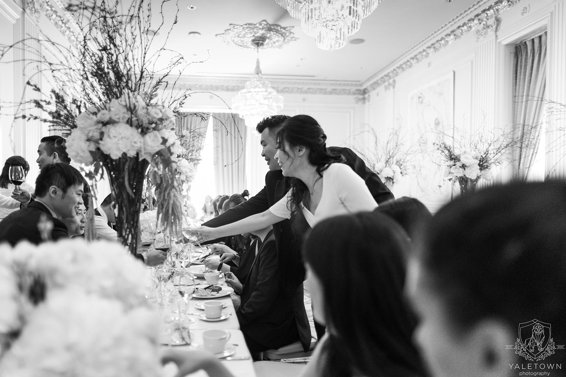 Wedding-Reception-Bride-Groom-Cheers-Rosewood-Hotel-Georgia-Vancouver-Wedding-Yaletown-Photography-photo
