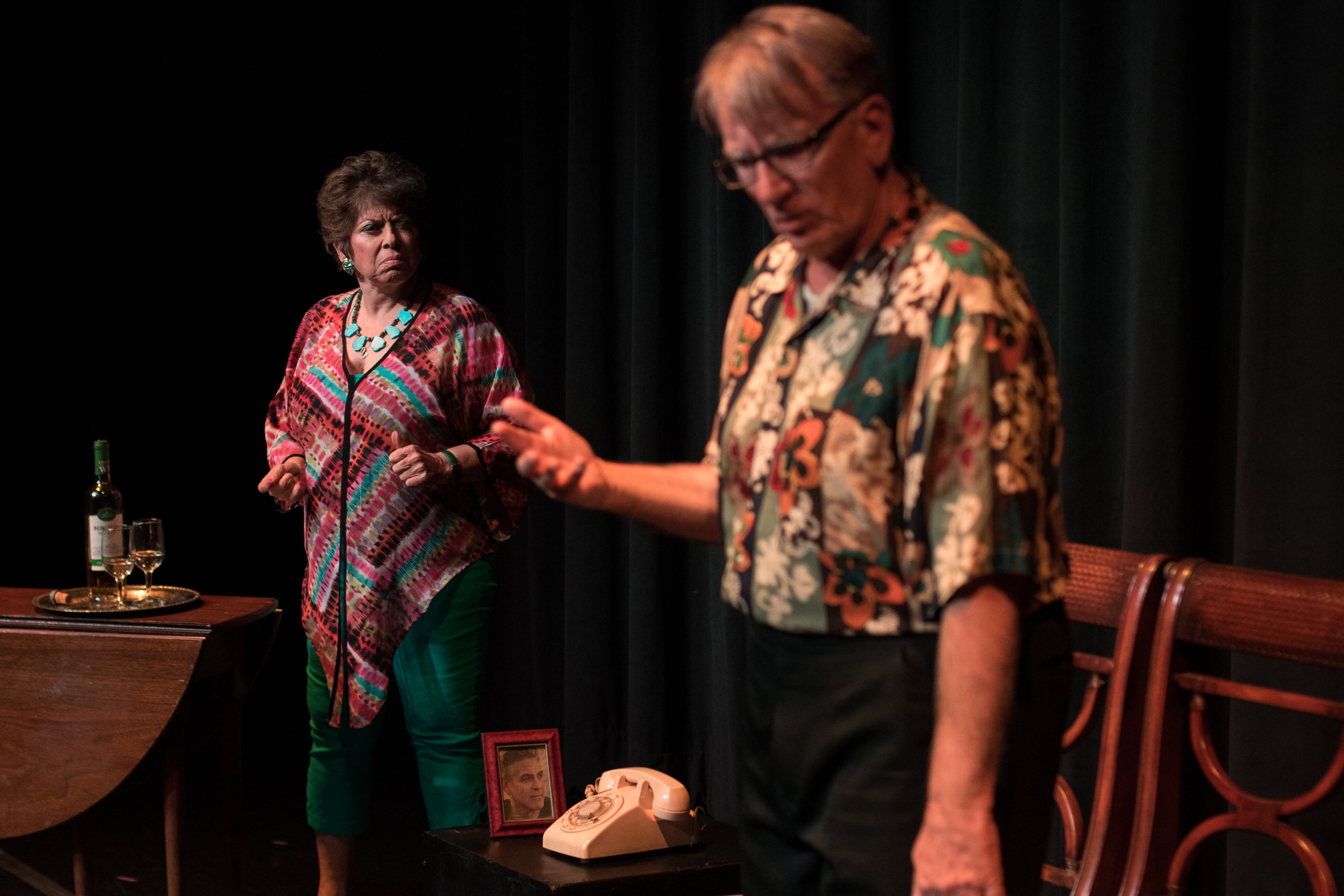 The Bennett TheatreLab & Conservatory: Festival of Plays, 2018 Sher Ribas Bloom & John Muller