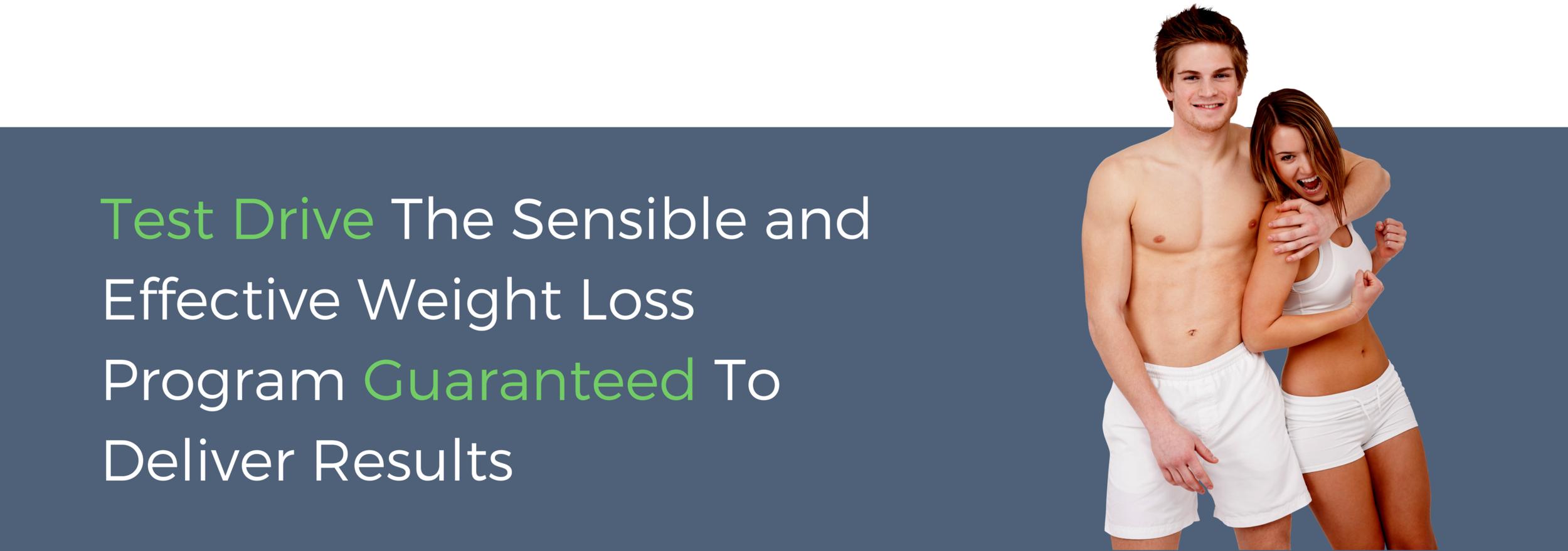 Sensible weight loss program