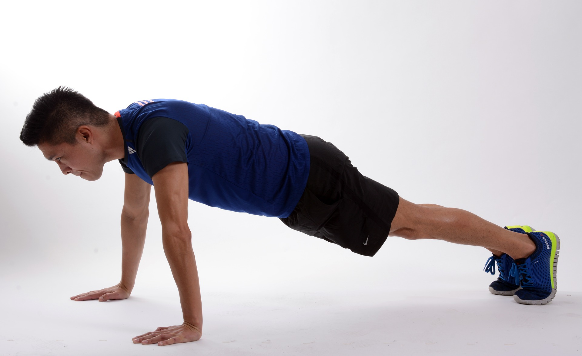 burpee push up step 3