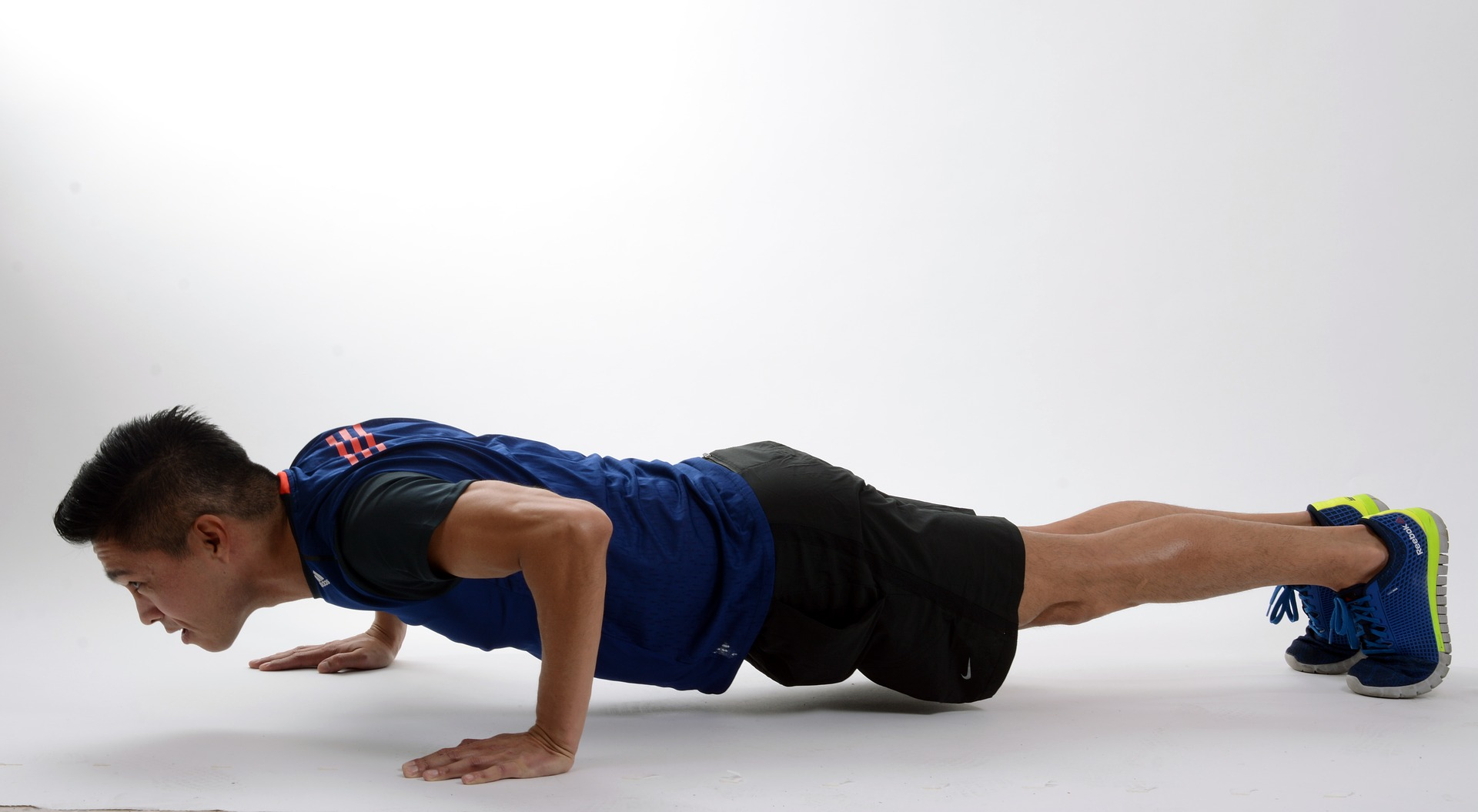 Burpee push up step 4