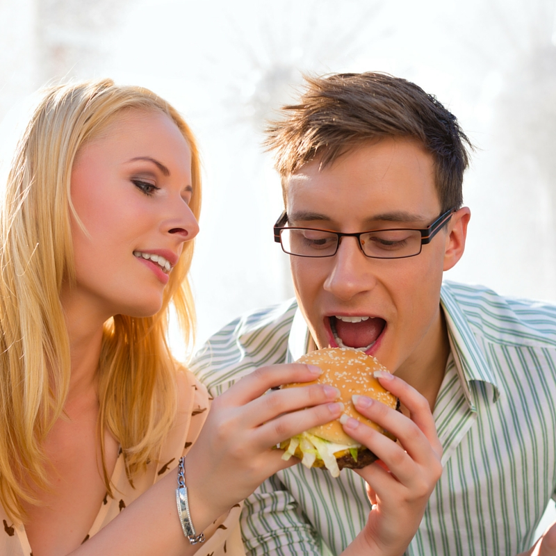 Eat slowly - how to reduce belly fat