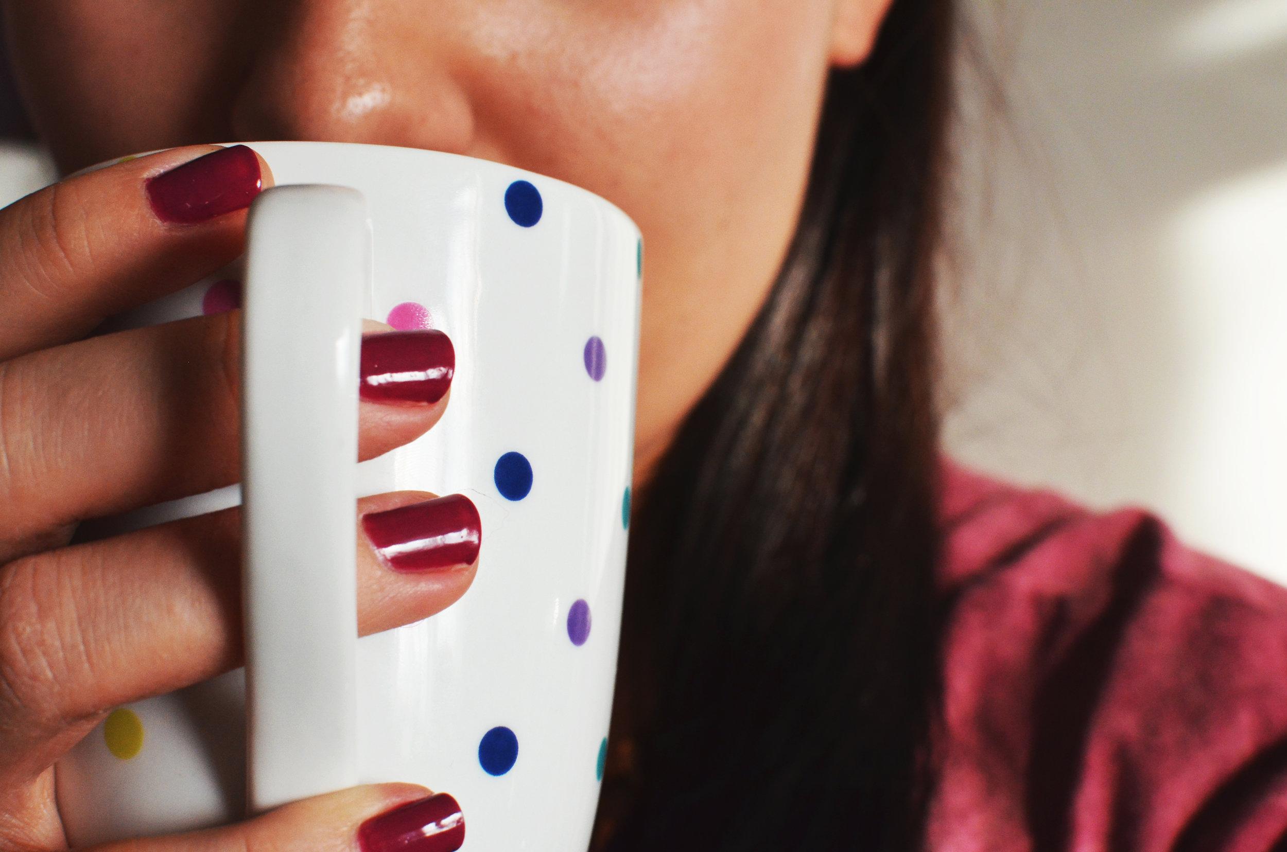 Drink normal coffee