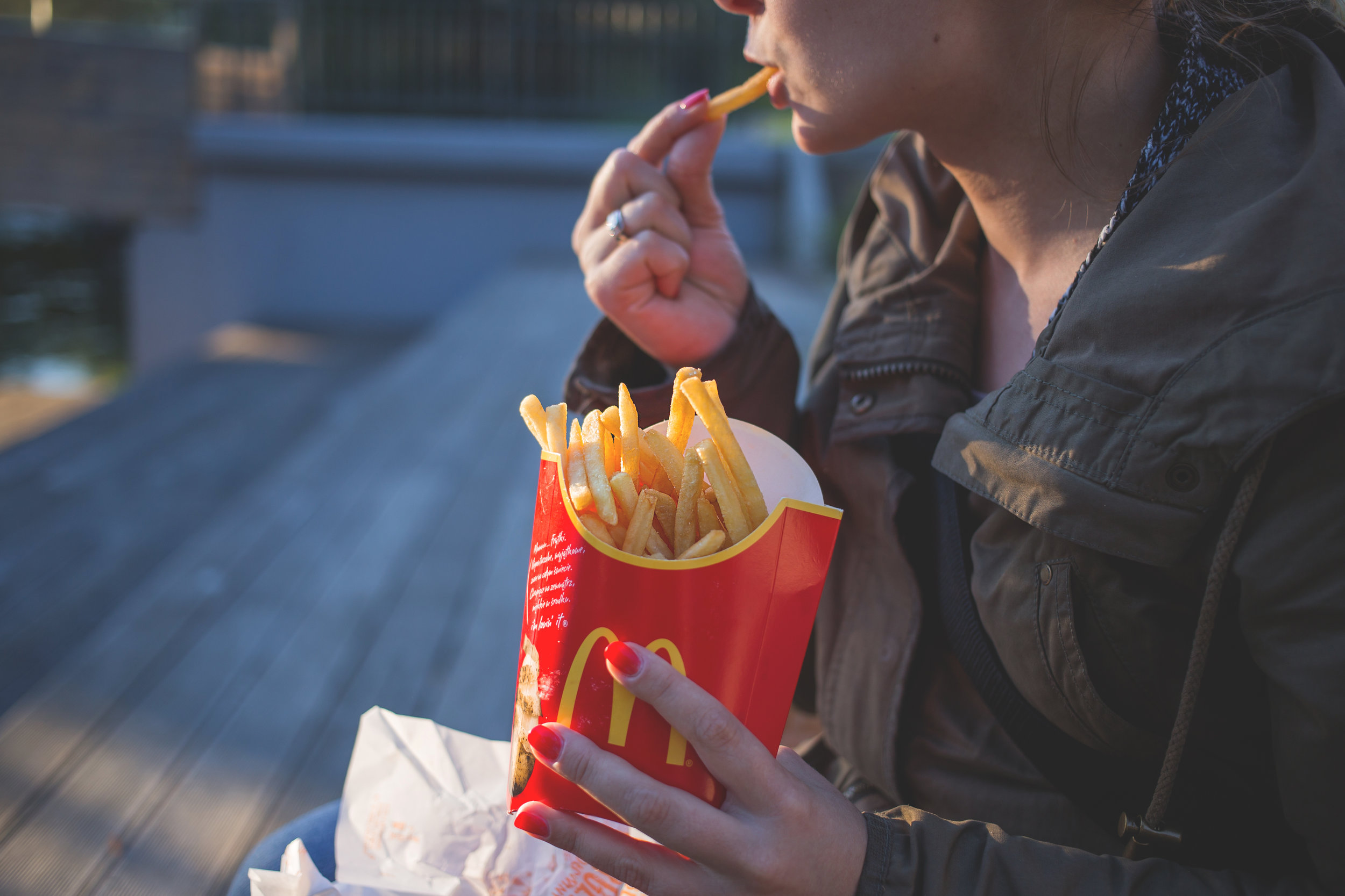 Salt and fast foods