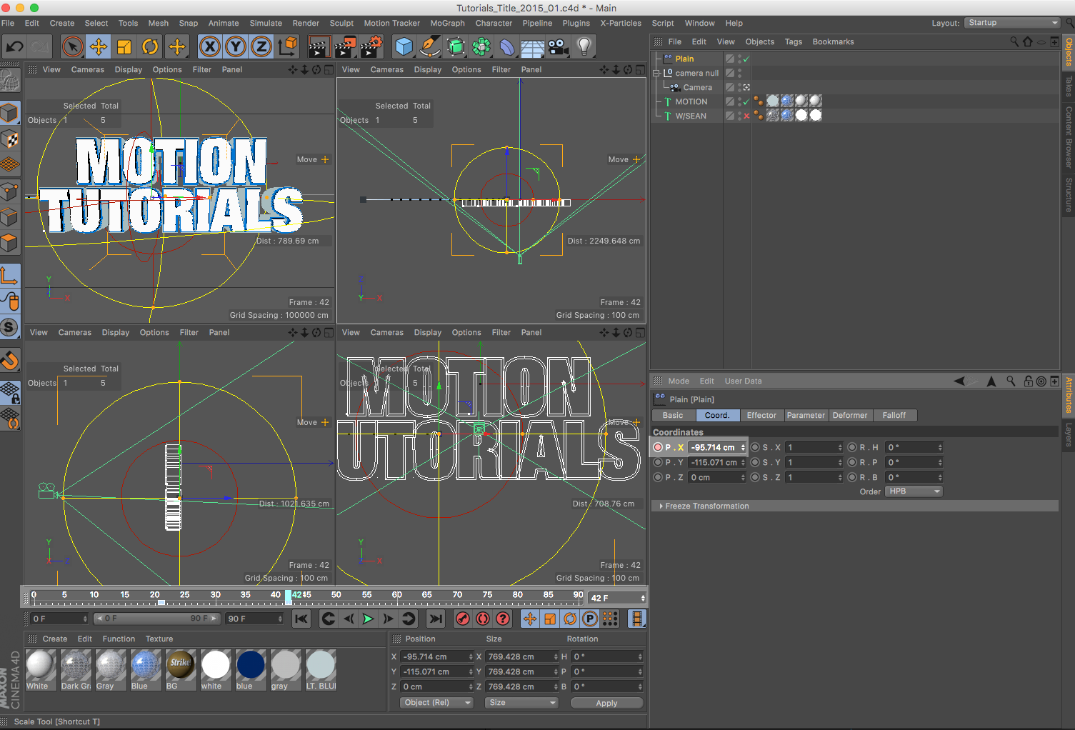 Now we're talking, animation time!